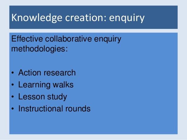 Collaborative Teaching Methodologies ~ Cricet building capacity for collaboration between schools