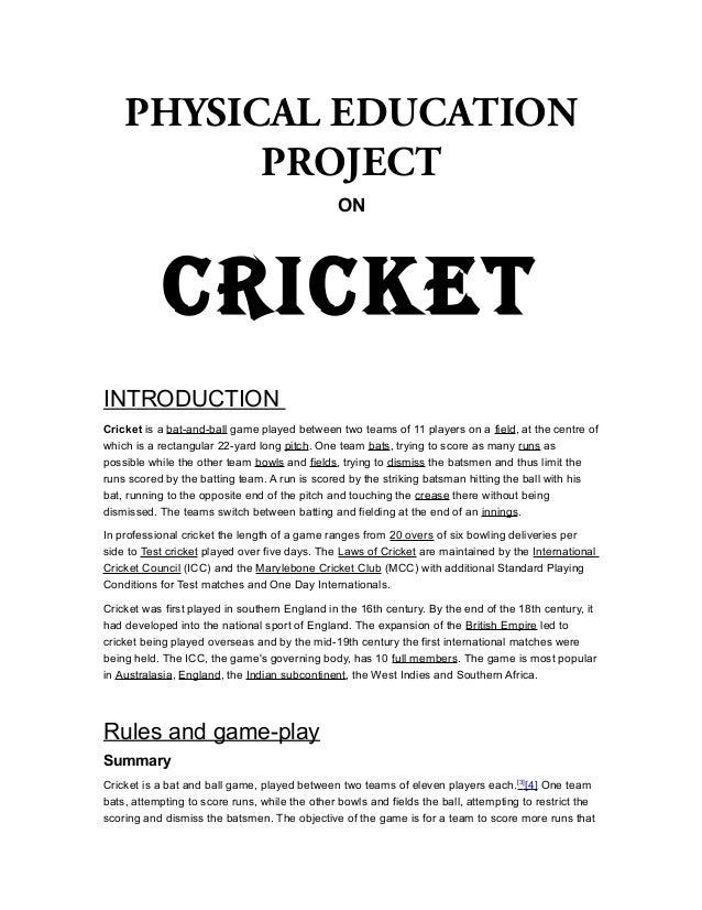 history of physical education summary