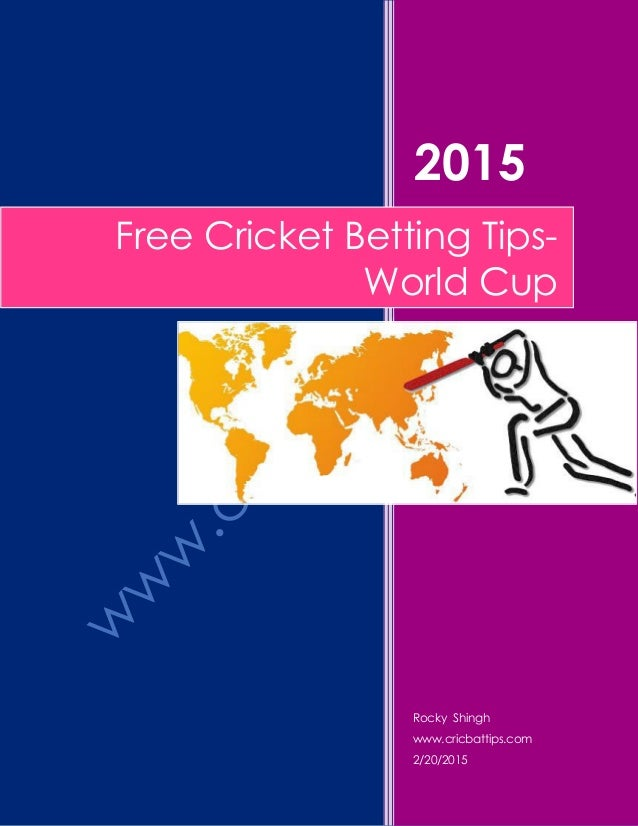 Tips for cricket betting counter strike betting predictions for today