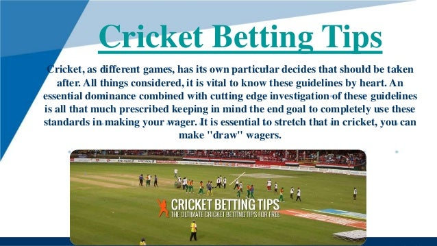 Betting cricket rate etude notaire bettingen senningerberg