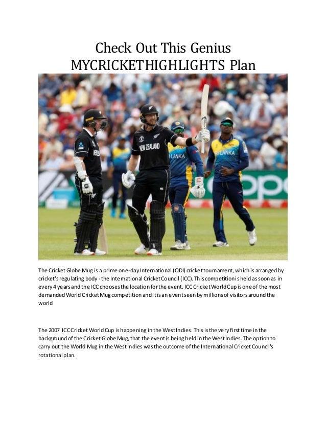 Cricket Highlights 2