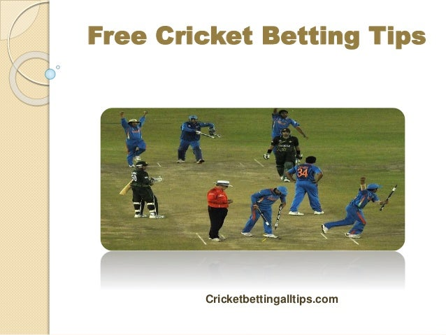 Free cricket betting tips for today's match