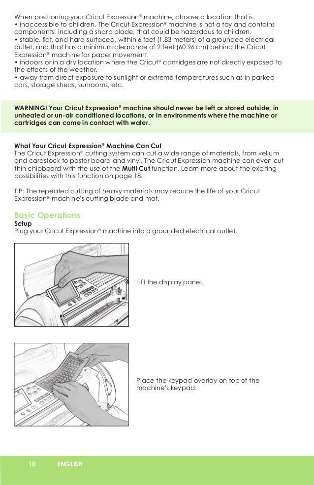 cricut expression user manual learn cricut rh slideshare net cricut expression user manual pdf Cricut Expression 2 Machine