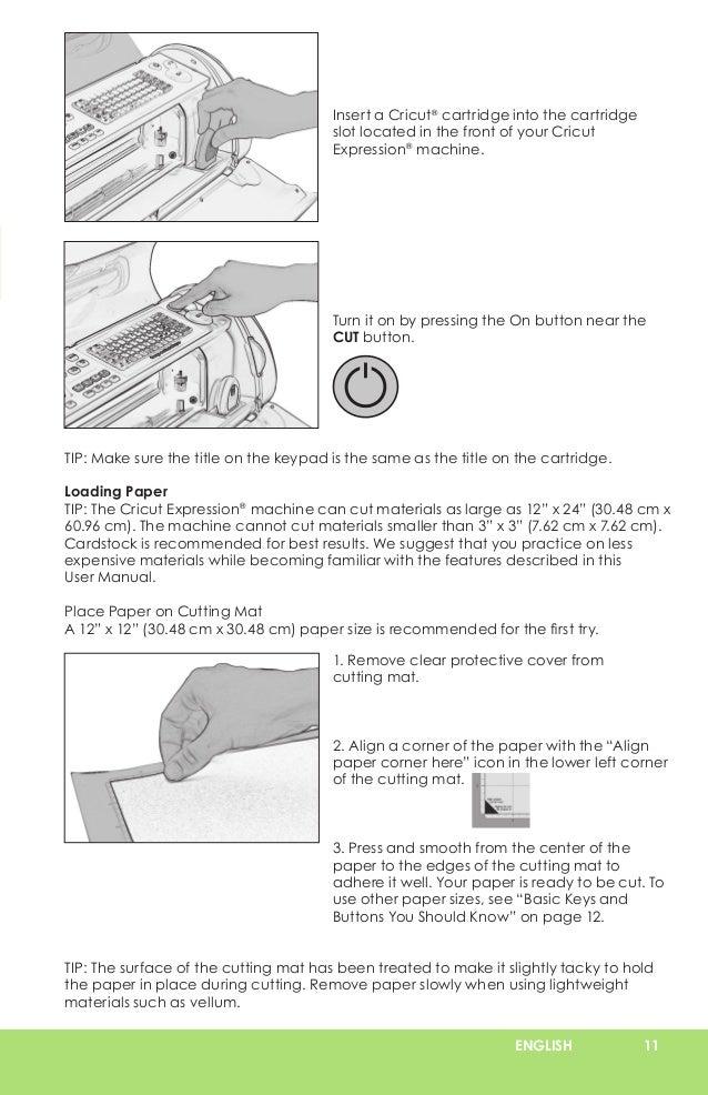 cricut expression user manual learn cricut rh slideshare net Cricut Expression 2 Cutting Mats Cricut Expression 2 Cartridges