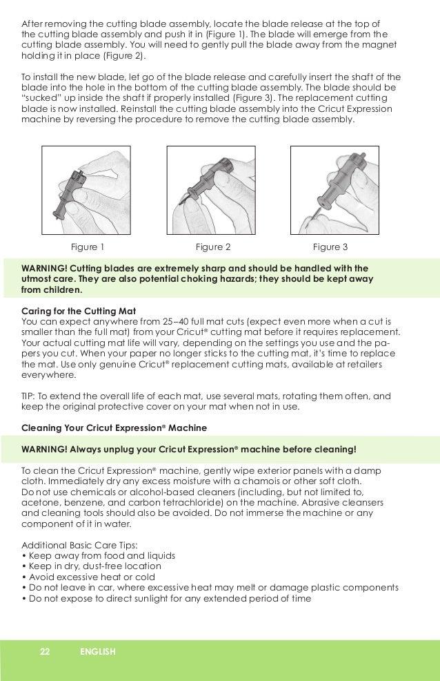 Cricut Expression User Manual - Learn Cricut