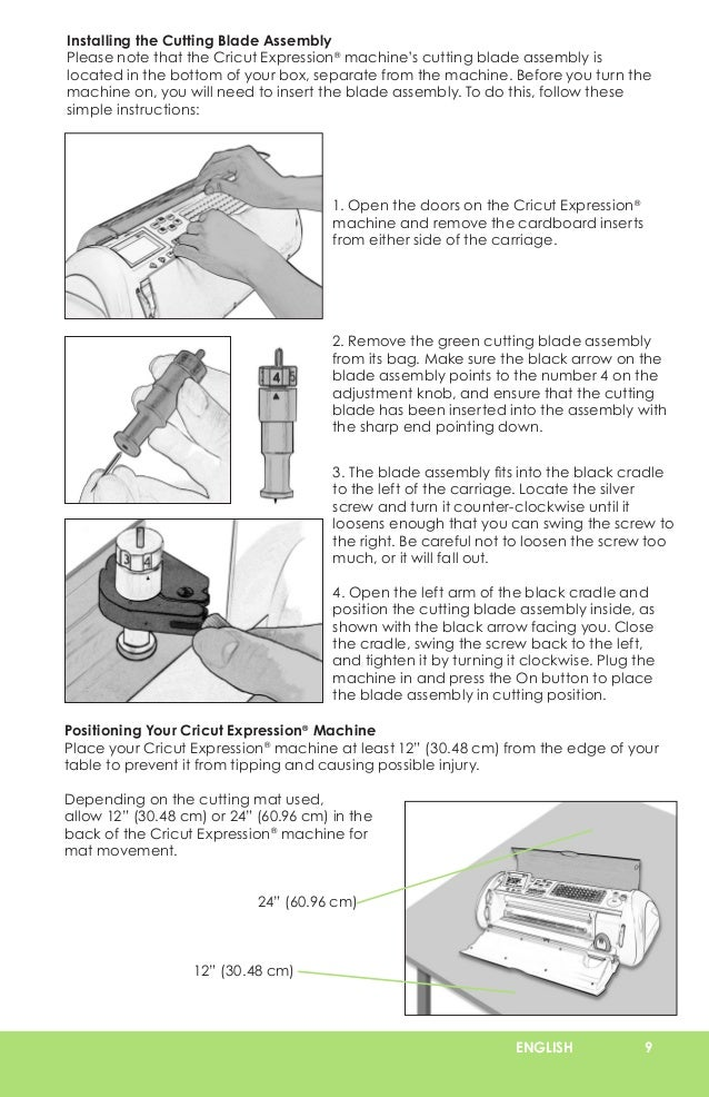 cricut expression user manual learn cricut rh slideshare net Cricut Owner's Manual Cricut Create Manual
