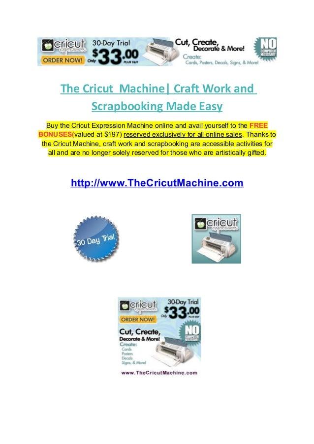 cricut craft machine