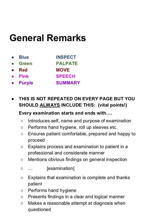 Consultation Manual Part 2 - Examination Skills Slide 3