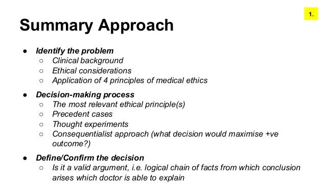 ethical decision making from a consequentialist Ethical decision making process 1 gather the  decide on the proper  ethical action and be prepared to deal with  consequentialist preferred action.