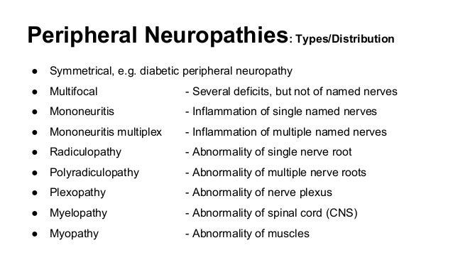 Useful Background Information For Neurology Revision