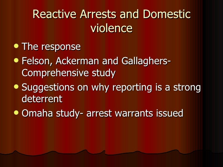 minneapolis domestic violence experiment Mandatory arrest and prosecution policies for domestic violence: a critical  literature review and the case  the minneapolis domestic violence  experiment.