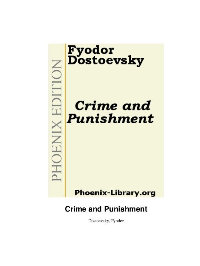 Crime and Punishment     Dostoevsky, Fyodor