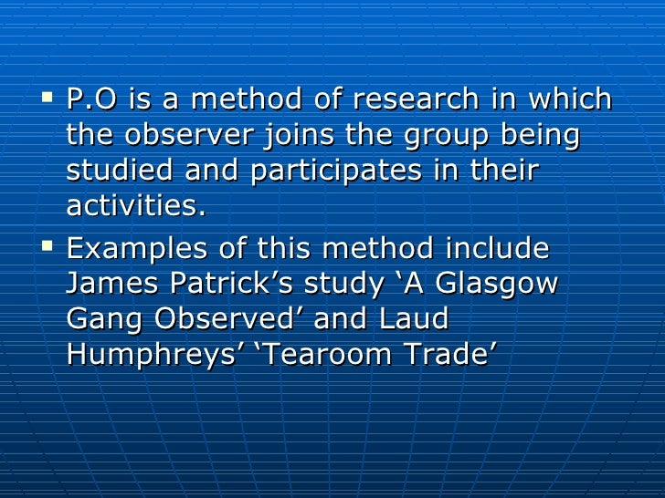 a study of laud humphreys tearoom trade The tearoom trade study submitted by kbl781 on thu  laud humphreys observed men having sex with men in public restrooms.