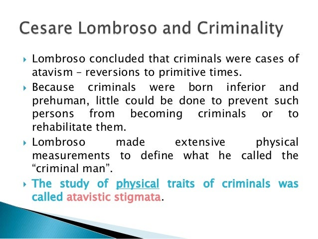Quiz & Worksheet - Cesare Lombroso's Contributions to ...