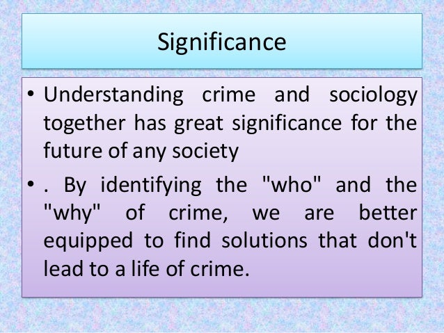 the difference in the meaning of deviance and a crime Conformity can also be ensured by more overt social, political, legal or cultural  pressure deviance is not necessarily criminal, though the two are often conflated .