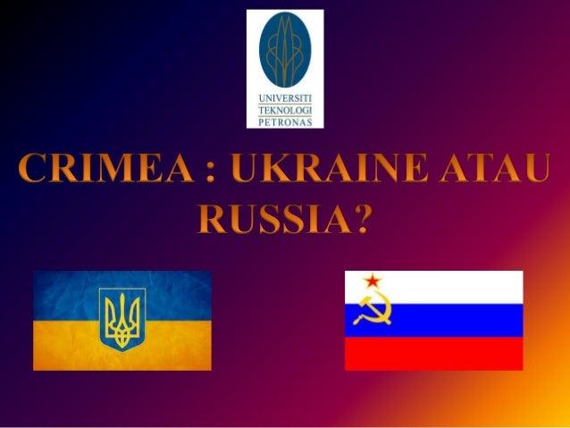 • Krisis Crimea ialah satu krisis antarabangsa yang masih berjalan yang melibatkan Rusia dan Ukraine • berpusat di Semenan...