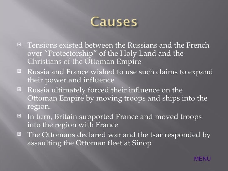 what was the cause of the crimean war