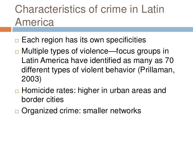 crime and violence in america Central america's spiraling wave of crime and violence is threatening the region's prosperity as countries face huge economic and human losses as a result.
