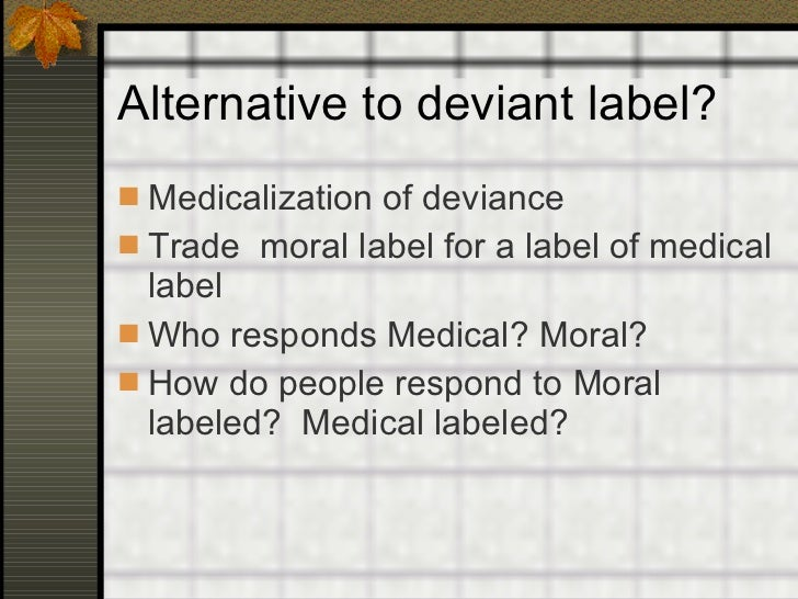 the importance of deviance in moral conformity Social control: techniques and strategies employed for preventing deviant   conformity: going along with peers who have no special right to direct behavior   some norms are so important to a  deviance affirms cultural values and  norms responding to deviance clarifies moral boundaries responding to  deviance.