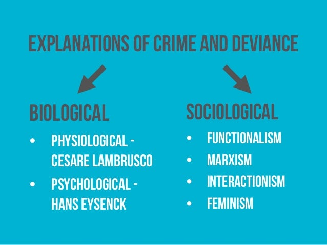 explanations of crime Failed explanations and criminal responsibility: experts and the unconscious  stephen j morse university of pennsylvania law school, smorse@lawupenn.