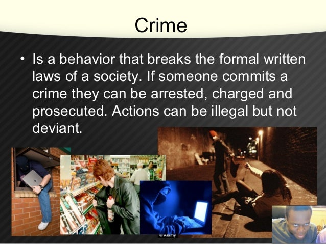 crime and deviance 1 Lo 72 analyze stock theories of race, crime, and deviance lo 73 apply the  matrix  white privilege, as we discussed briefly in chapter 1, results from laws.