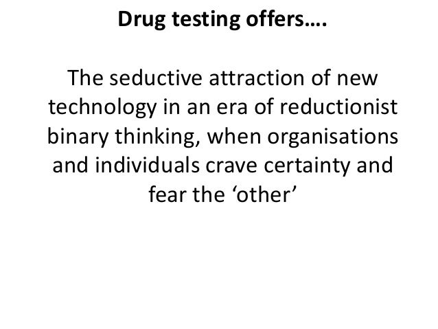the importance of drug testing welfare recipients Unlike most editing & proofreading services, we edit for everything: grammar, spelling, punctuation, idea flow, sentence structure, & more get started now.