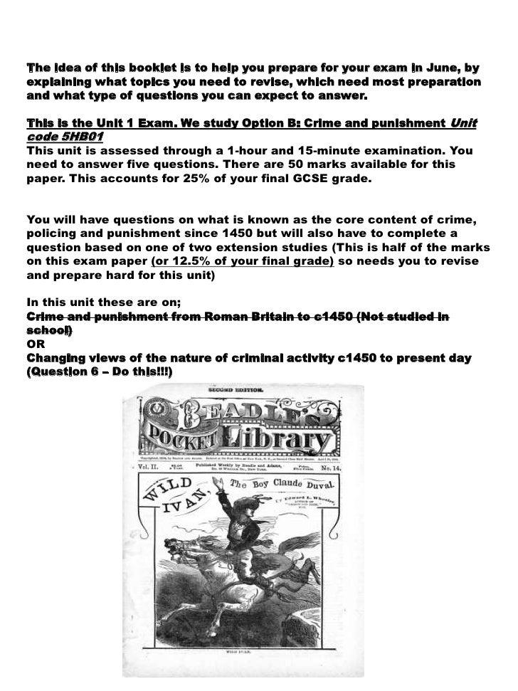 Ap english crime and punishment essay