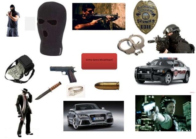 Crime Genre Mood Board