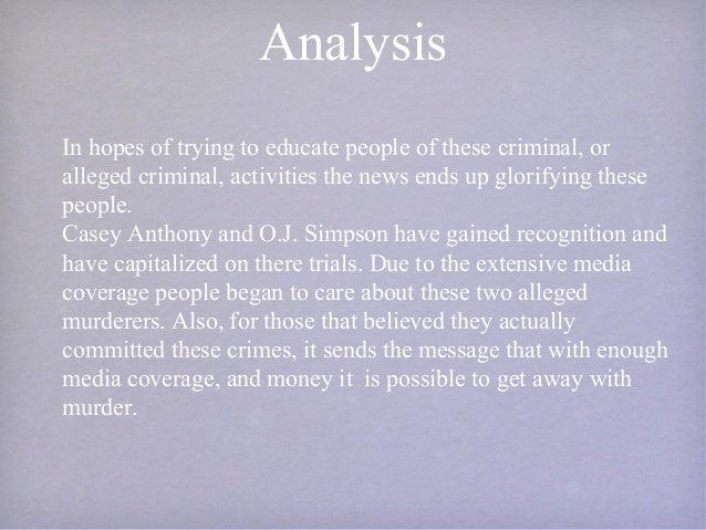 mass media and crime Crime and deviance and the media relative deprivation and crime• left realists argue that the mass media help to increase the sense of.