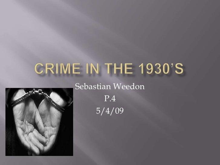 Sebastian Weedon         P.4      5/4/09