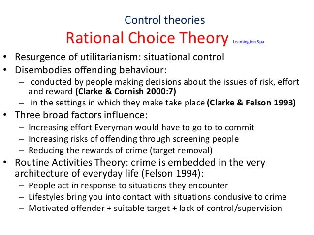 conventional thoughts on rational choice making The first step to making better choices thought about the proposed project and determined that even though phil ethical decision making and behavior——241.