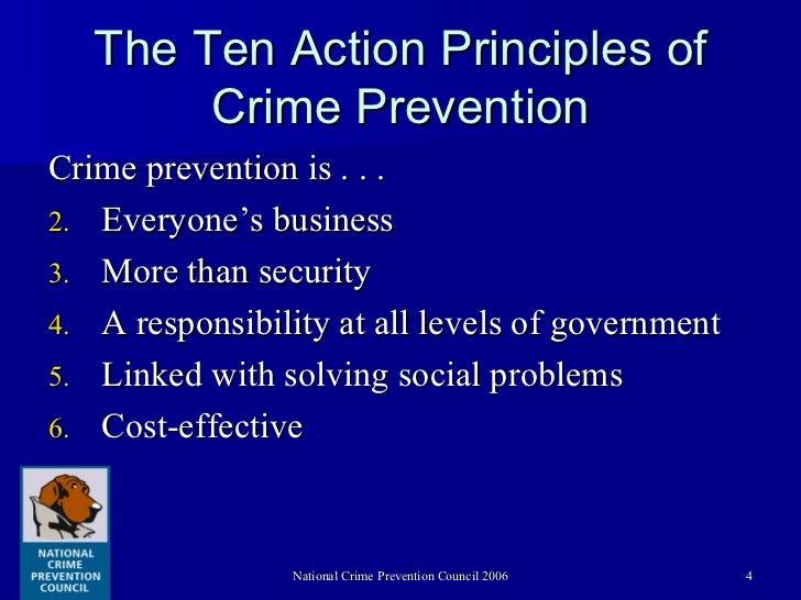 Crime prevention coalition of america