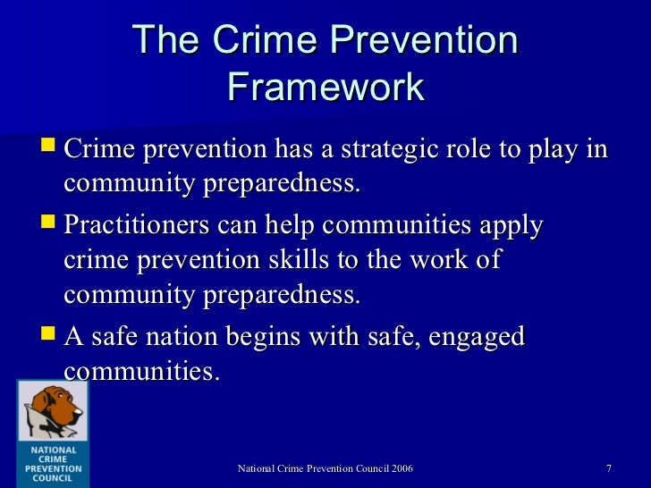 theories of crime prevention pdf