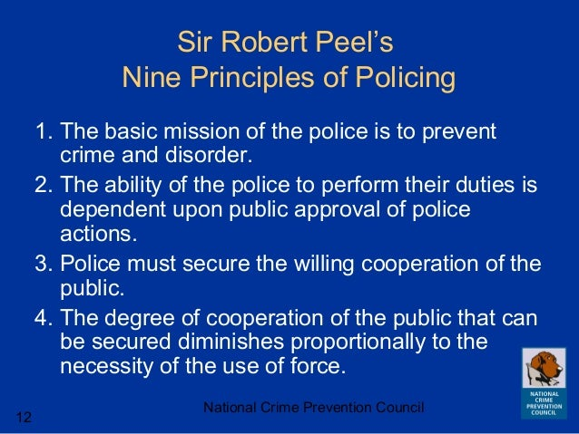 policing by consent usa