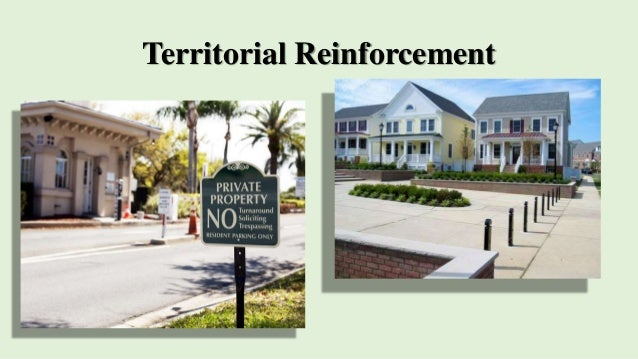 Crime prevention through environmental design ii for Territorial house plans