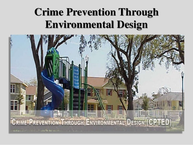 crime prevention through environmental design assignment