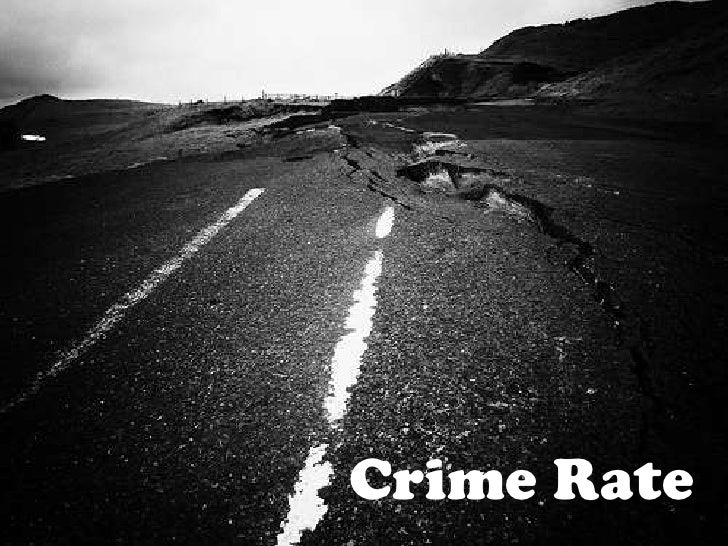 Crime Rate<br />