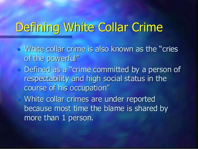 white collar and political crimes And his panel of entry writers adopt a broad approach to white-collar crime: their excellent set covers corporate, organizational, governmental, financial, and political crimes, as well as important legislation and laws related to the subject an impressive title on a neglected field of criminal justice ' - choice while we can.