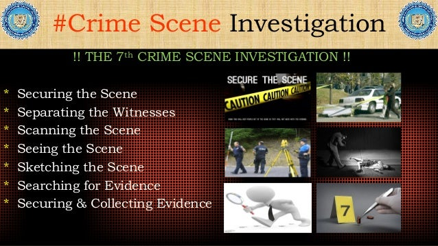the importance of the crime scene security Following our chat with the officer we need to ensure the our own safety as well as the security of others working in the scene are there any hazards,  such considerations are important.