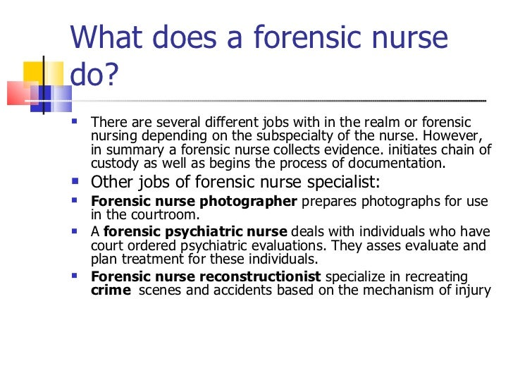 how to become a forensic nurse in canada