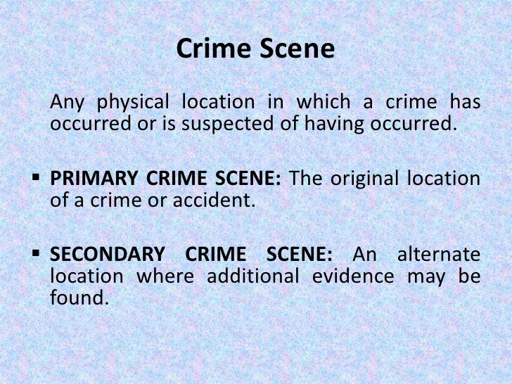 crime scene management Radiological crime scene management : implementing guide — vienna :  international atomic energy agency, 2014 p  24 cm — (iaea nuclear security  series,.