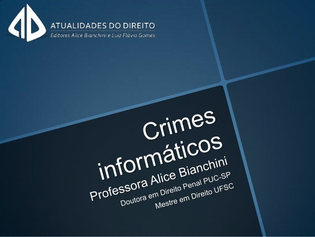Crimes informáticos