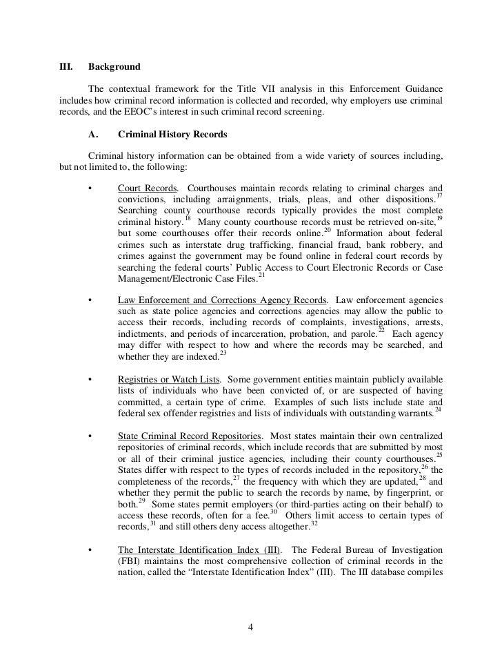 law enforcement and criminal background information
