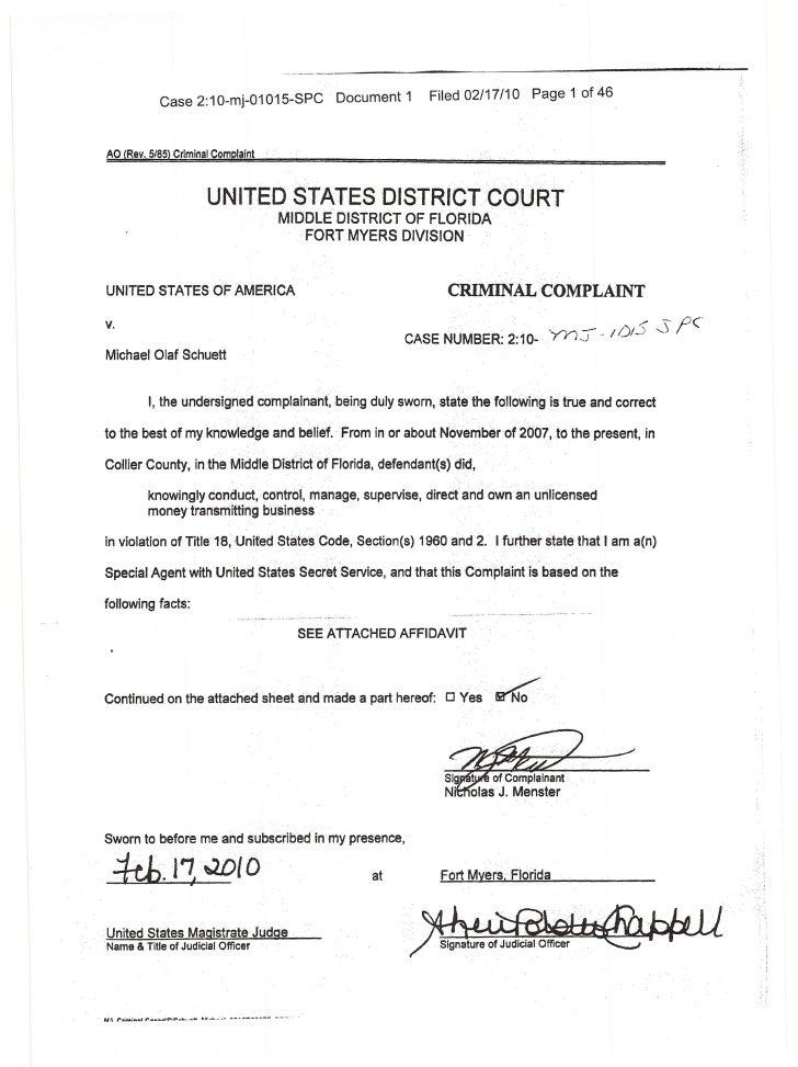 Case 2:1 0-mj-01 015-SPC                                     Document 1      Filed 02/17/10                               ...