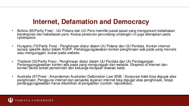 Criminal Defamation  Slide 3