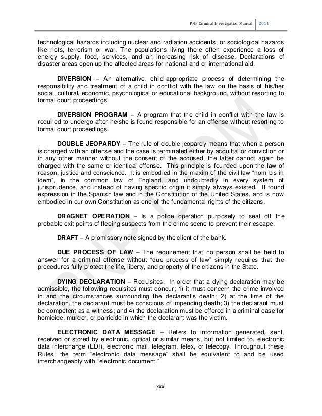 criminal investigation manual rh slideshare net Face Mask Laboratory Manual Science Lab Manuals