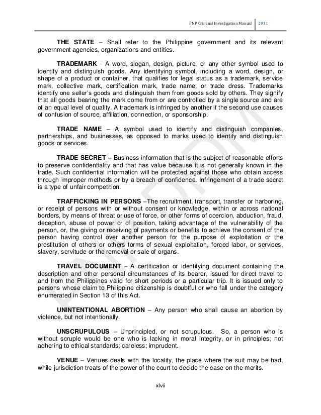 principles of criminal investigation pdf