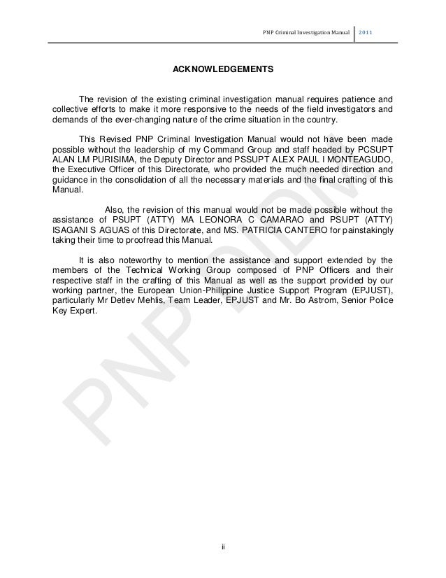 """pnp criminal records """"on the part of the pnp, we also be observed [in accessing records] party or a soon-to-be former state-party to the international criminal."""