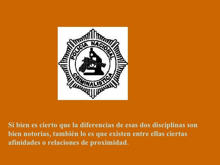 Si bien es cierto que la diferencias de esas dos disciplinas son bien notorias, también lo es que existen entre ellas cier...