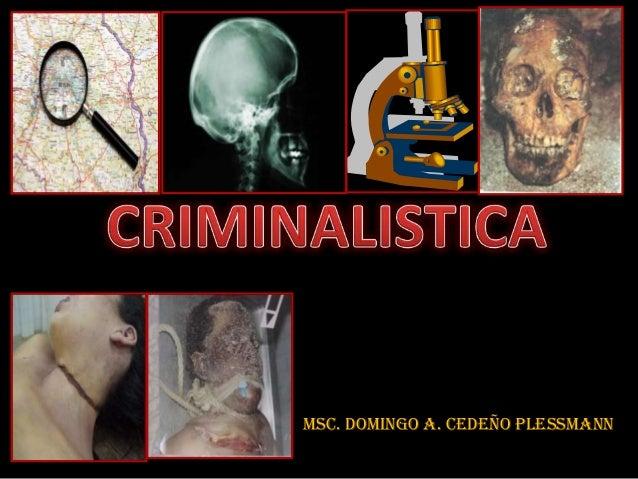 Msc. Domingo A. Cedeño Plessmann